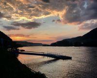RV-Rhenus_Steg_Sonnenuntergang